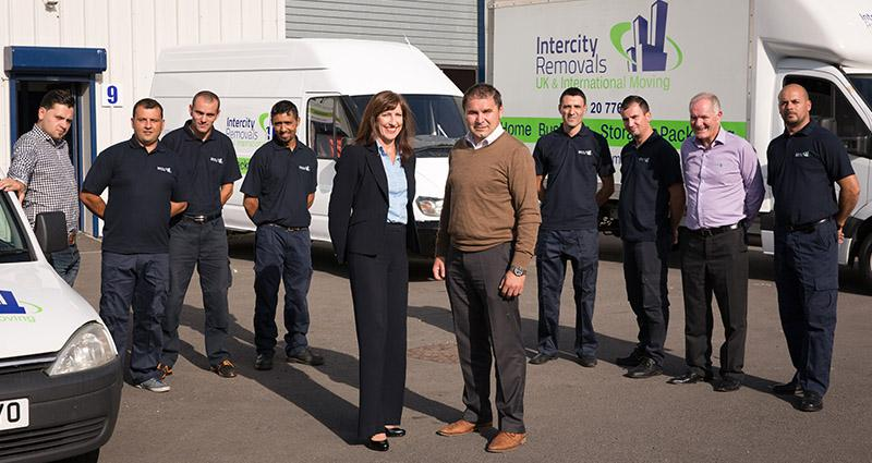 friendly and professional removals team
